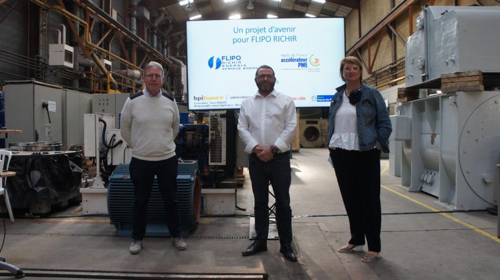 Flipo Richir Programme Accélérateur PME BPI France Yves Dubois Marie VAillant Christophe Debendère