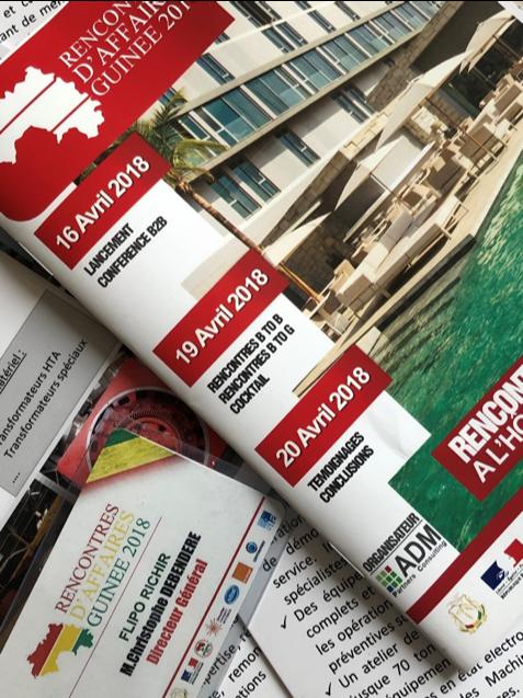 Forum business Guinée Flipo Richir