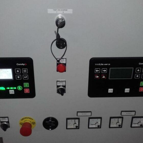 Groupe électrogène de secours centre de rééducation l Flipo Richr