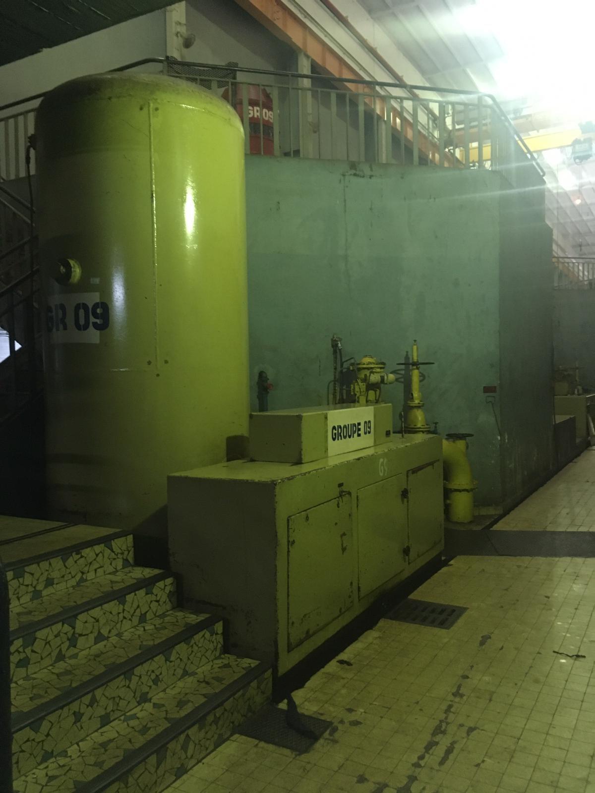 Groupe électrogène huile piloté par le controle commande l Flipo Richir