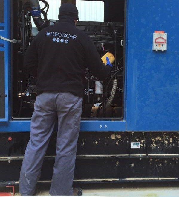 Groupe électrogène maintenance