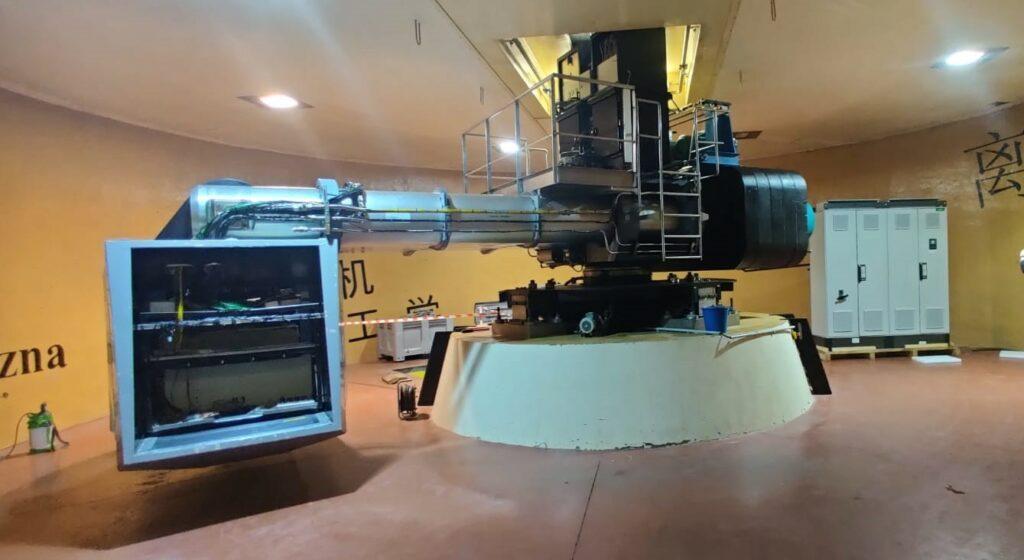 IFSTTAR, installation de la motorisation et du contrôle de la commande d'une centrifugeuse l Flipo Richir
