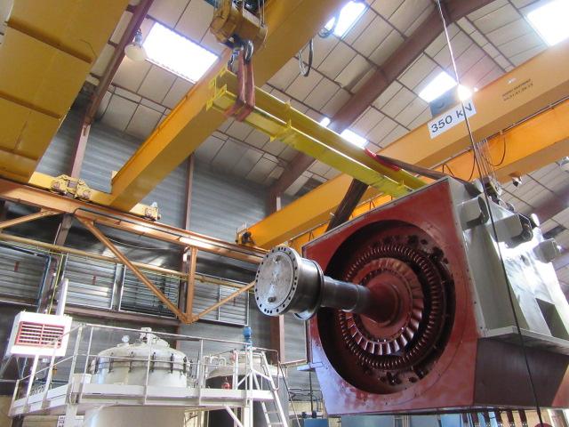Intervention de Flipo Richir : maintenance machine tournante