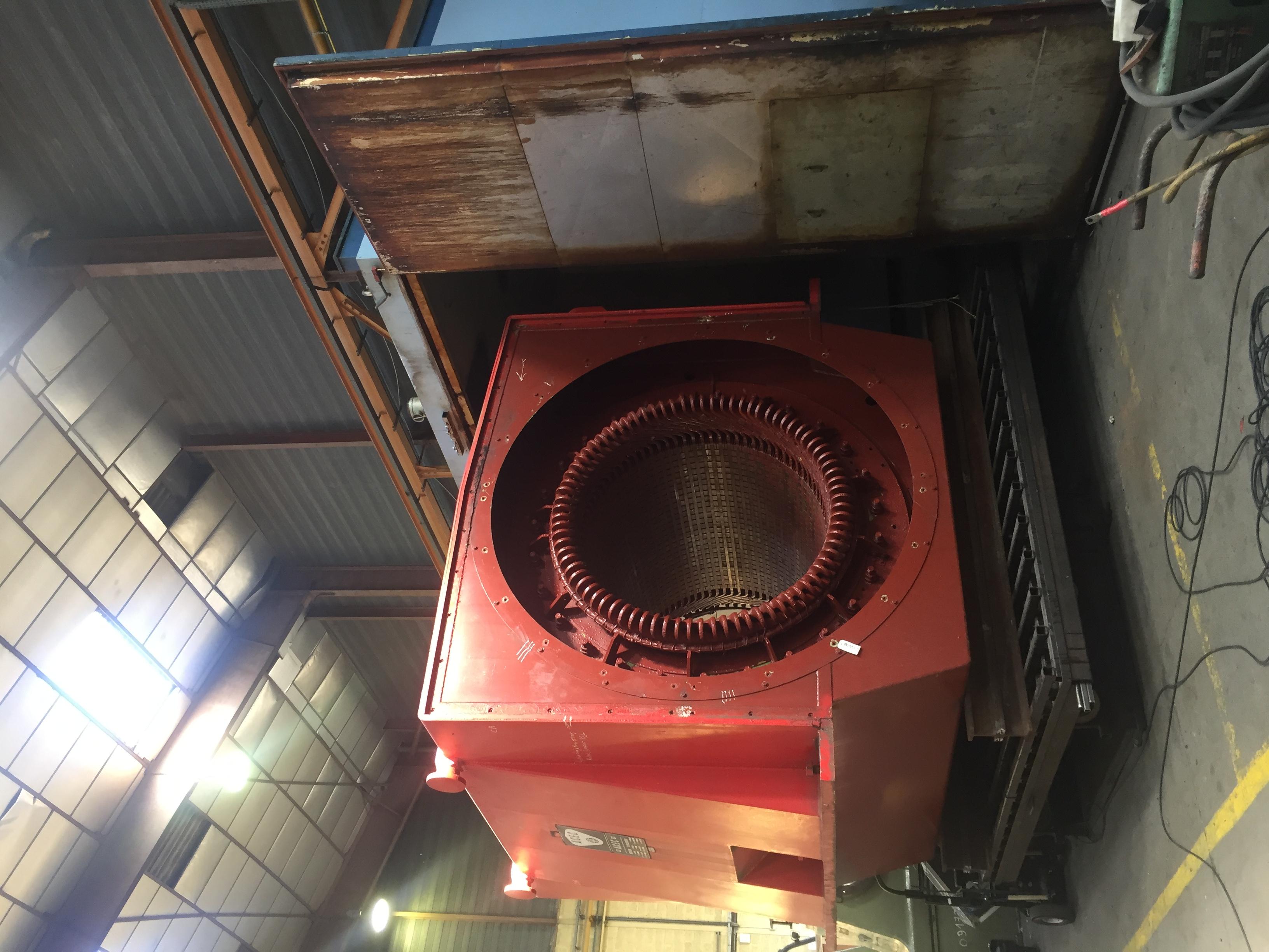 Maintenance machine tournante par Flipo Richir