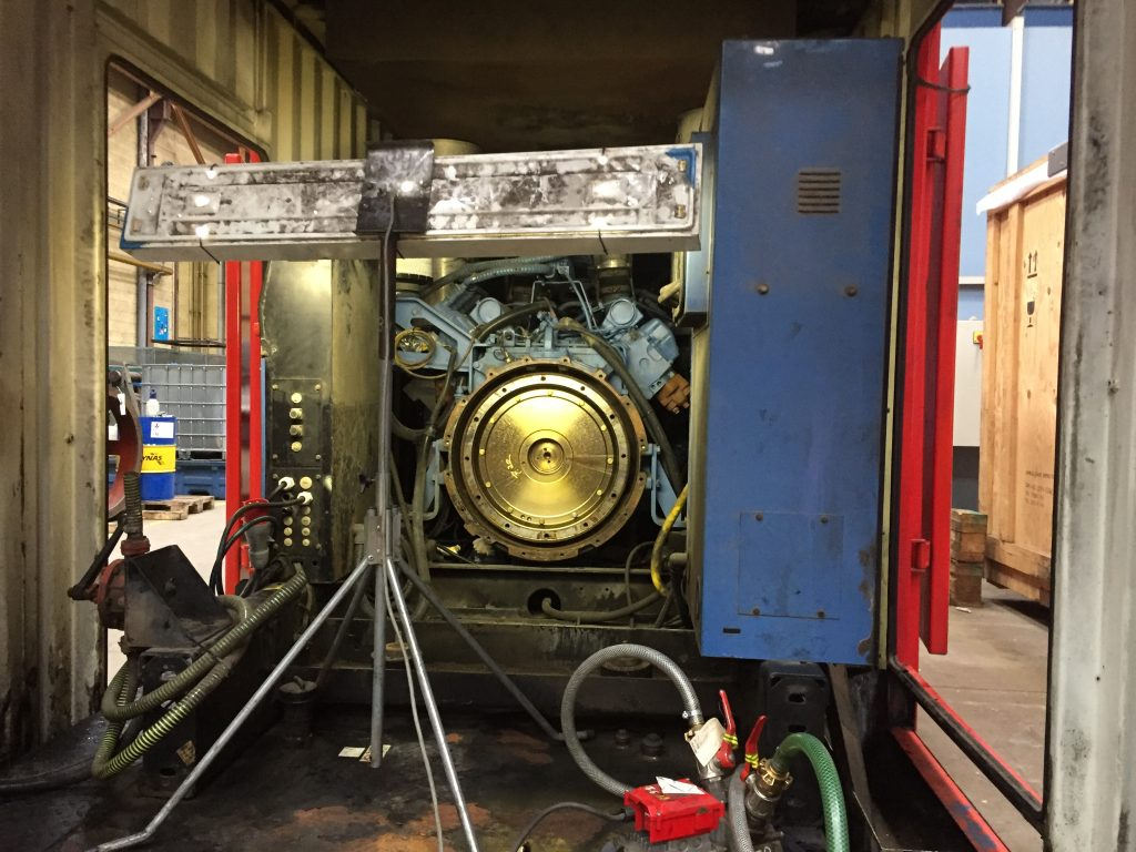 révision d'un Alternateur 1100 kVa par Flipo-Richir