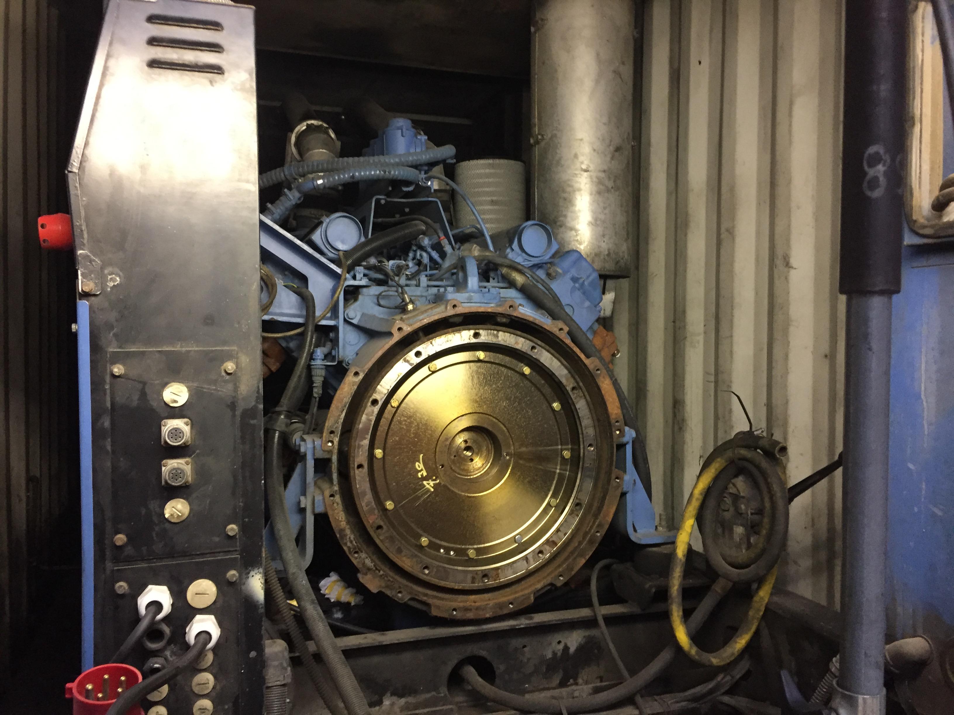 Intervention de Flipo-Richir : révision d'un Alternateur 1100 kVa