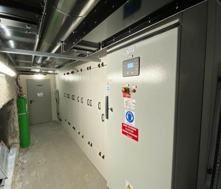 Ingénierie, fourniture, installation de 2 groupes électrogènes l Flipo Richir