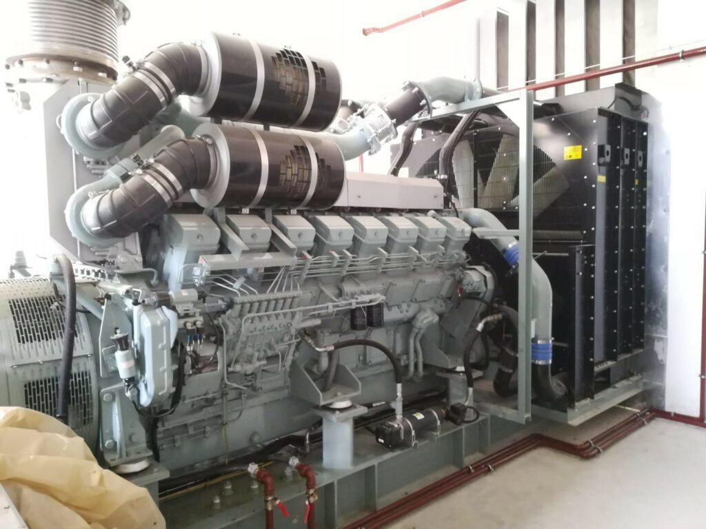 Installation d'un groupe électrogène de 2000 KVA PRP l Flipo Richir