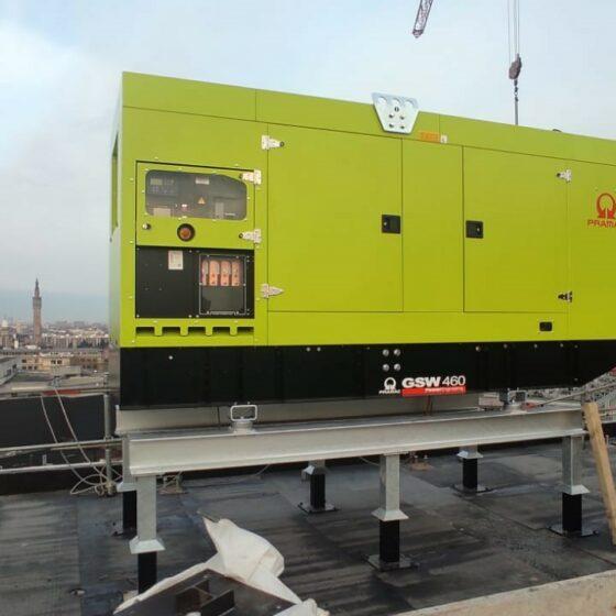 Installation groupe électrogène de sécurité site Euralille l Flipo Richir