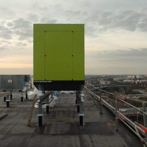 Installation groupe électrogène de sécurité sur le site Euralille l Flipo Richir