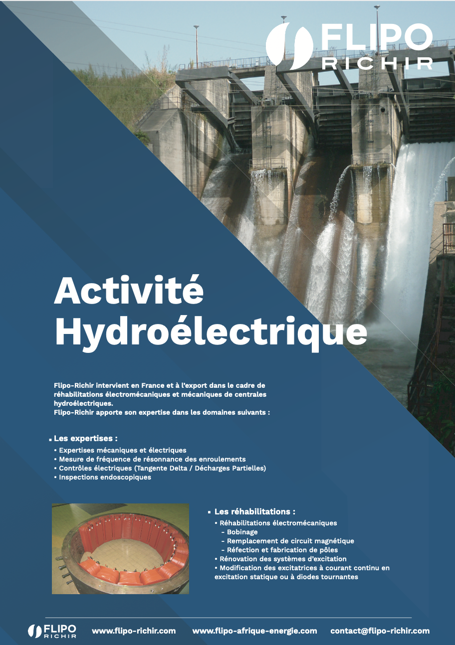 Plaquette Hydroélectrique l Flipo Richir