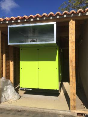 Installation groupe électrogène au Puy du Fou l Flipo Richir