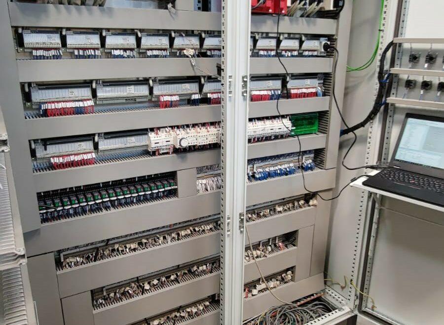 Remplacement armoire puissance automatisme pour secteur agroalimentaire l Flipo Richir