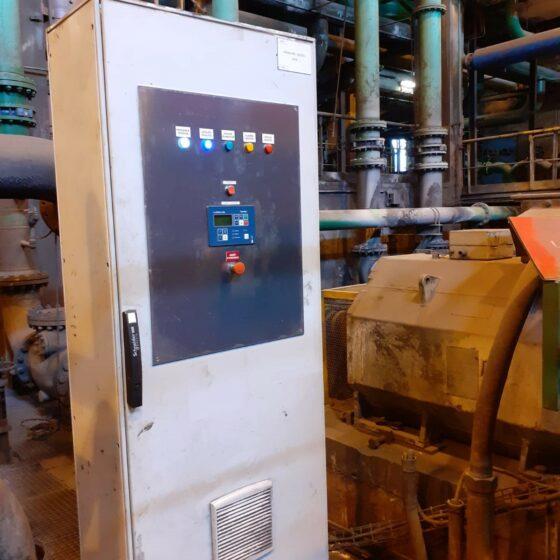 Remplacement moteur diesel et automatisme d'une motopompe de secours l Flipo Richir