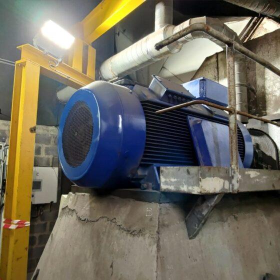 Remplacement variateur et moteur 710 kW l Flipo Richir