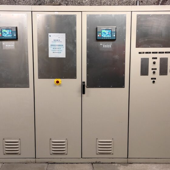 Rénovation commande après groupes électrogènes Auchan l Flipo Richir
