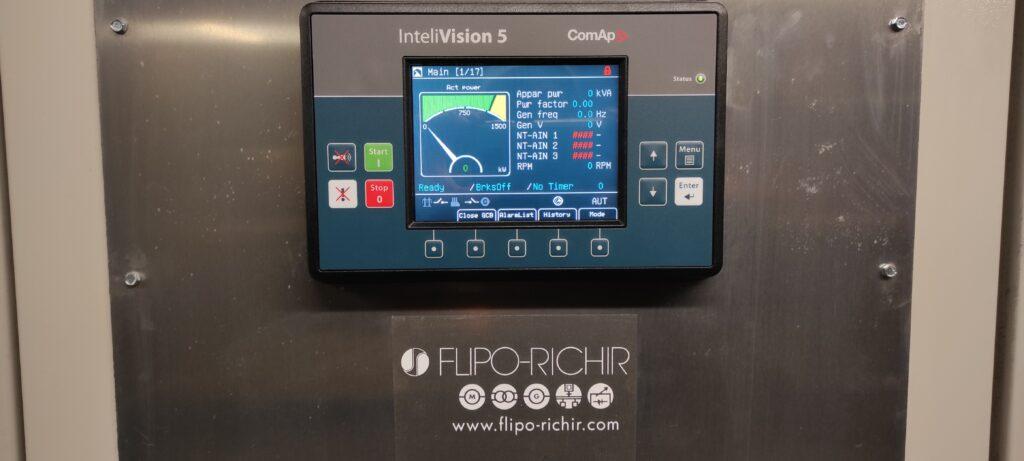 Rénovation commande groupes électrogènes après Auchan l Flipo Richir