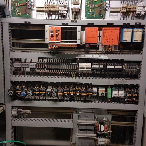 Rénovation commande groupes électrogènes avant Auchan l Flipo Richir