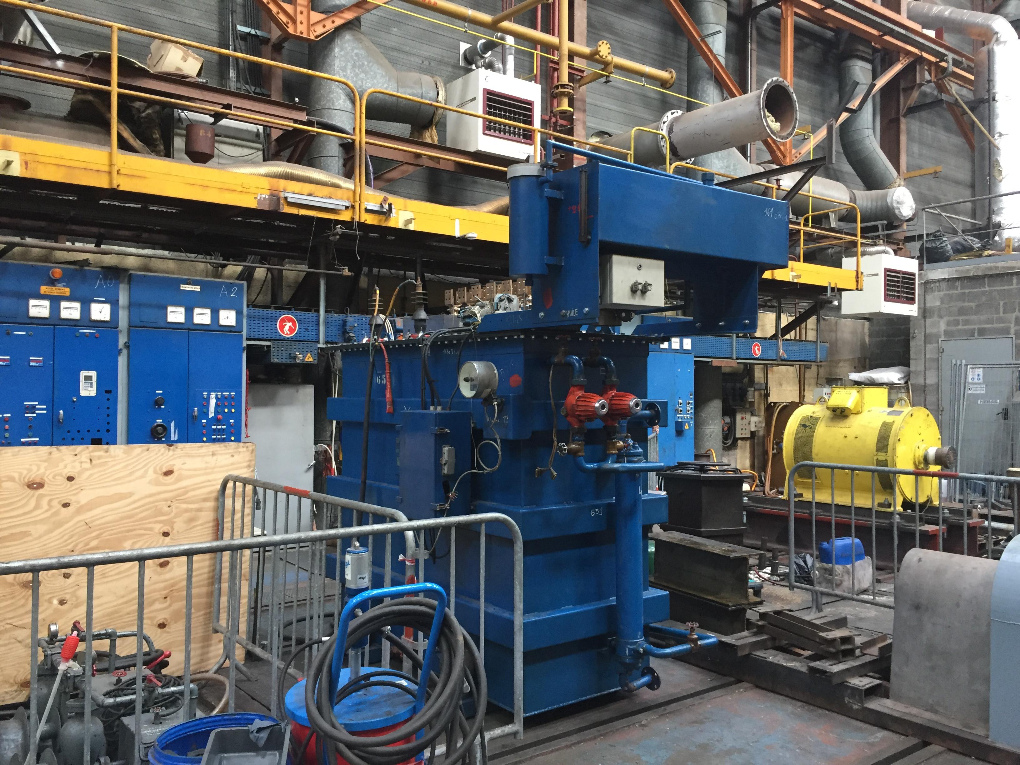 Révision en atelier d'un transformateur Monophasé 775.5KVA, 60KVA l Flipo Richir